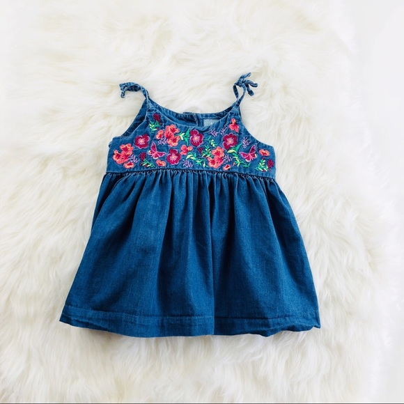 31b34a9fe8e GAP Other - Baby Gap Embroidered Dress